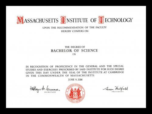 Degree Requirements | Massachusetts Institute of Technology